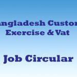 customs job circular